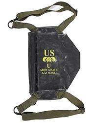 M7 Assault Gas Mask Bag, OD straps