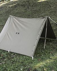 US Shelter Half, 2nd Model