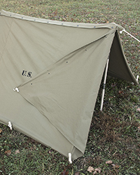US Shelter Half, 2nd Model