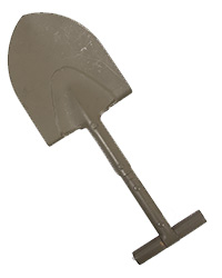 Airborne T-Handle Shovel (Short)