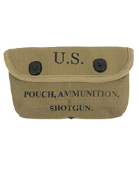US WWII Shotgun Pouch, Made in USA