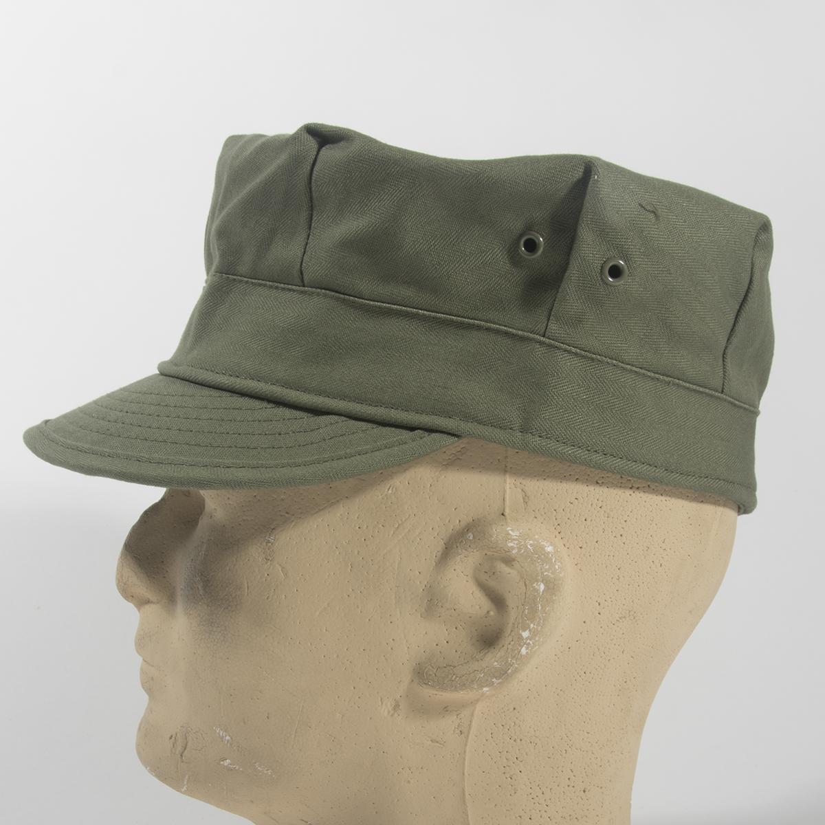 First issue fatigue and field cap made in sage green HBT. Patterned from  original bb2b62625d58