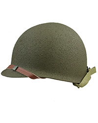 US WWII fixed bale M1 Helmet