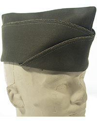 Green Officer Garrison Cap