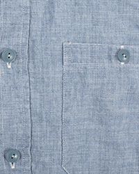 Chambray Shirt Buttons