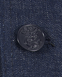 Navy Jumper Buttons