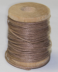 Linen Thread, Brown, Spool