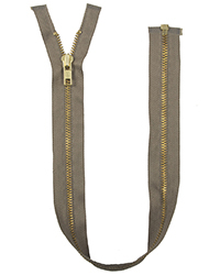 "Talon 28.5"" Brass Zipper"