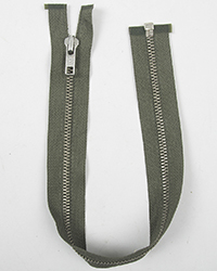 "Talon 23"" Nickel Zipper"