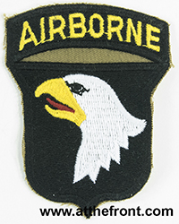 101st Airborne Division (red-tongue)