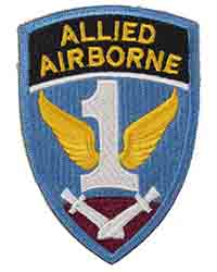 1st Allied Airborne Embroidered