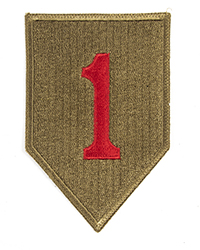 1st Division (Embroidered)