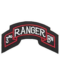 3rd Ranger Battalion Scroll