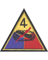 "4th Armored Division, ""Theater-Made"" Bullion"