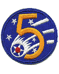 5th Air Force sleeve patch