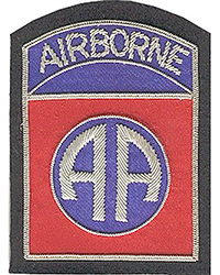 "82nd Airborne Division  (""theatre-made"" bullion)"