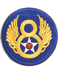 8th Air Force sleeve patch