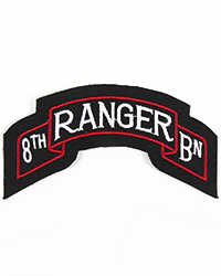 8th Ranger Battalion Scroll