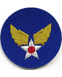 "Army Air Corps (Theater Made ""Bullion"") sleeve patch"