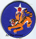 Flying Tigers (AVG)/ & 14th Air Force sleeve patch