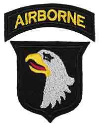 "101st Airborne Division (""British-Made"" on wool)"