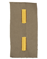 2nd Lieutenant Rank (Cloth)