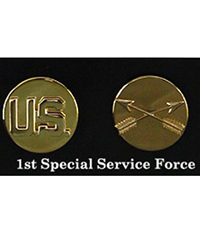 US EM Collar Disc, 1st Special Service Force