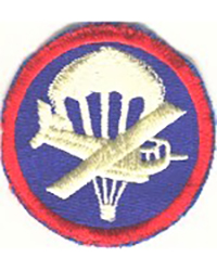 Officer Combined Airborne Cap Patch