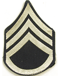 Original Staff Sergeant Chevrons, Rayon, (Pair)