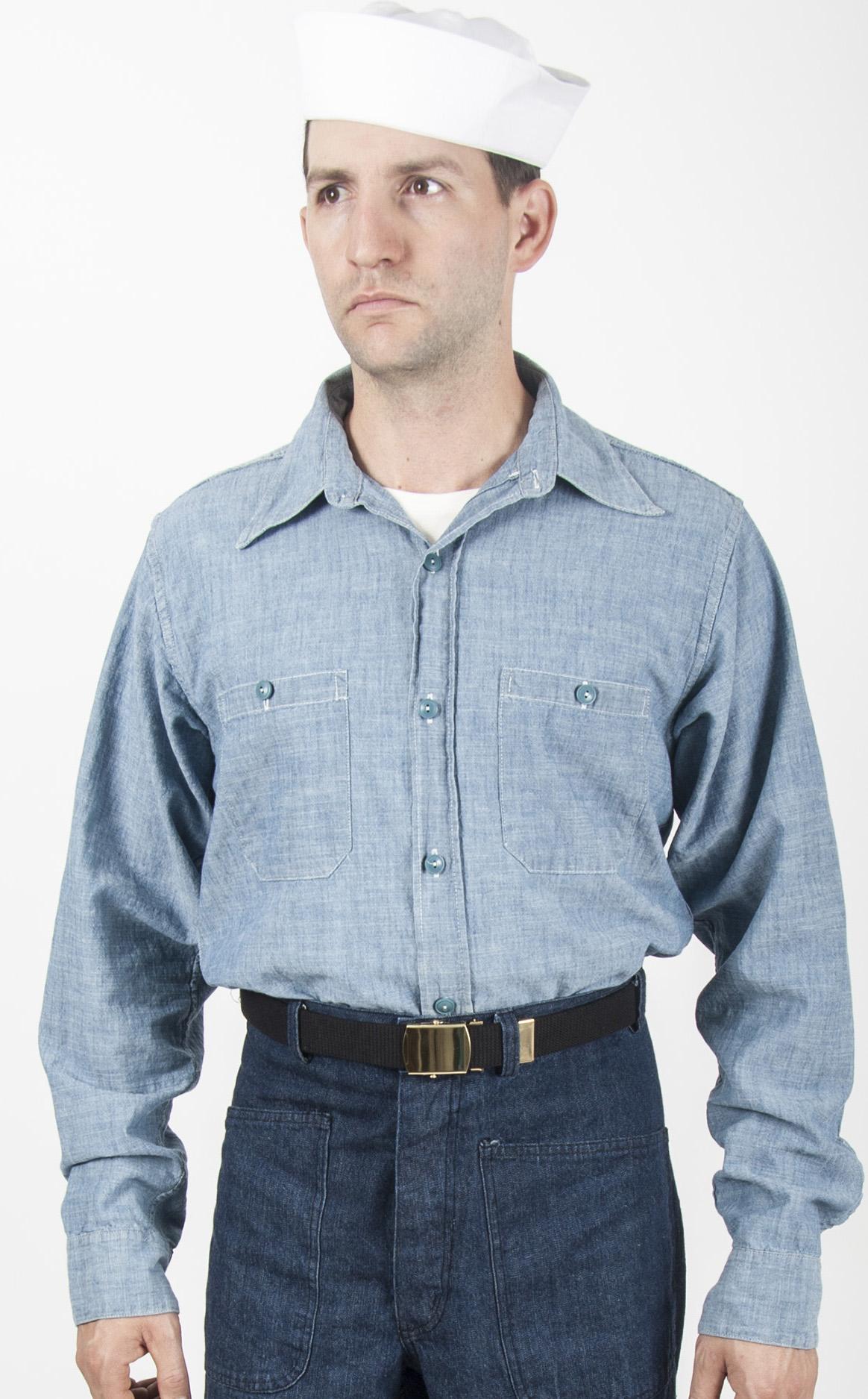 US Navy Chambray Shirt