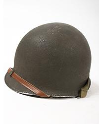 Original WWII M1 helmet w/ Firestone Liner