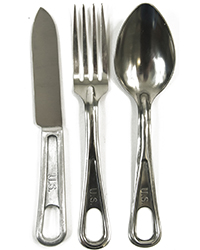 US WWII Eating Utensils