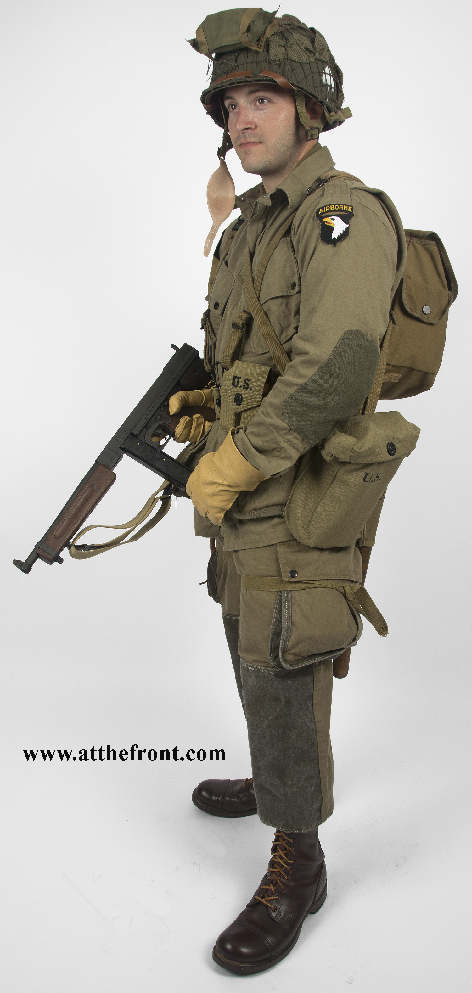 101st Airborne Normandy Uniform Wwii Uniforms Paratrooper Wwii