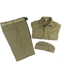 US Officer Wool Package