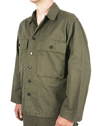 Dark Shade Army HBT Jacket