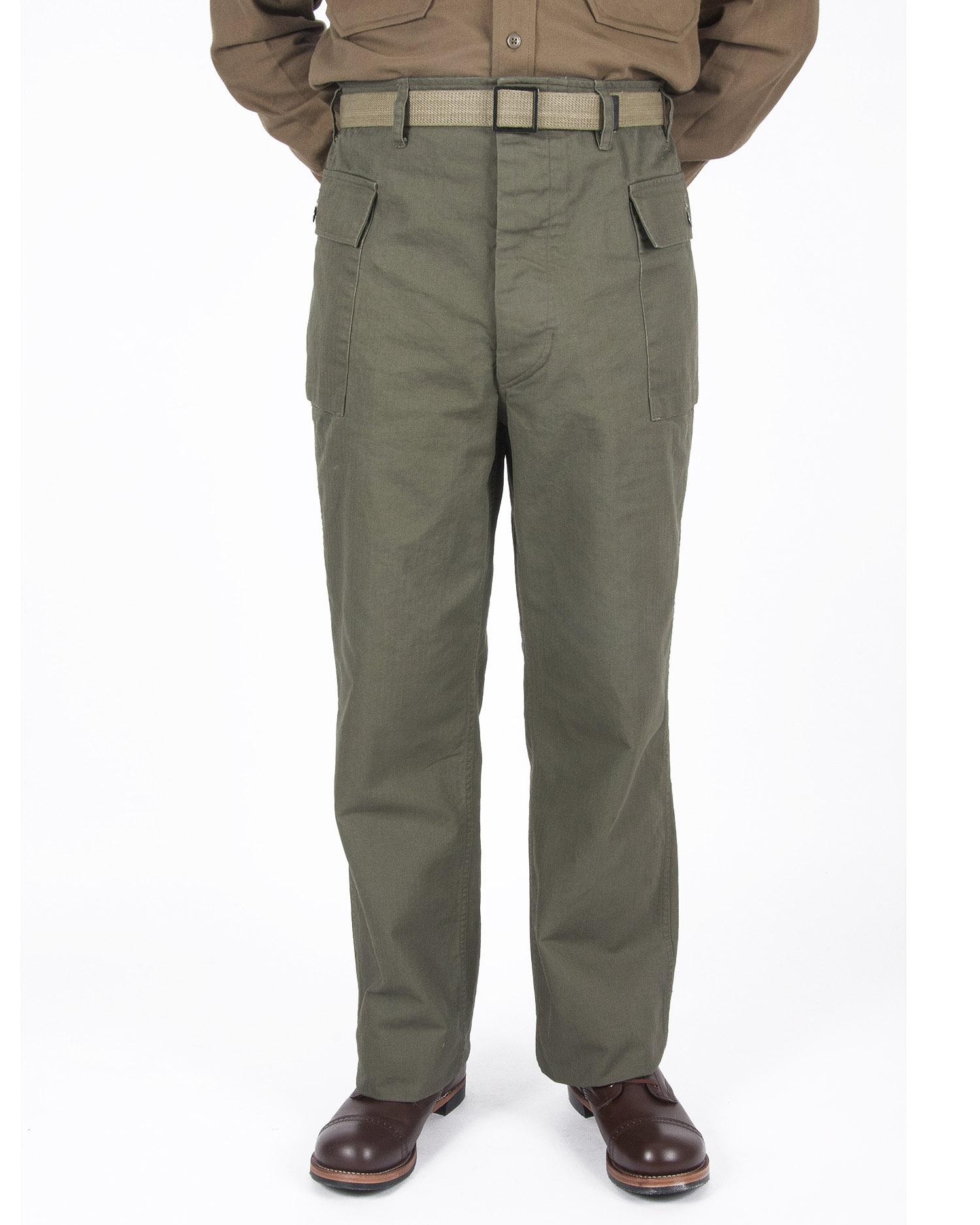 U.S. WWII Herringbone Twill trousers HBT men