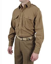 US Officer Flannel Shirt