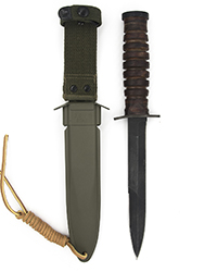 M3 Trench Knife w/ M8 scabbard